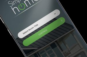 simplify my home app showing on mobile screen